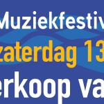 Ticketverkoop Muziekfestival Blokzijl 2020 van start
