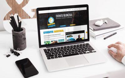 Nieuwe website Stichting Events Blokzijl
