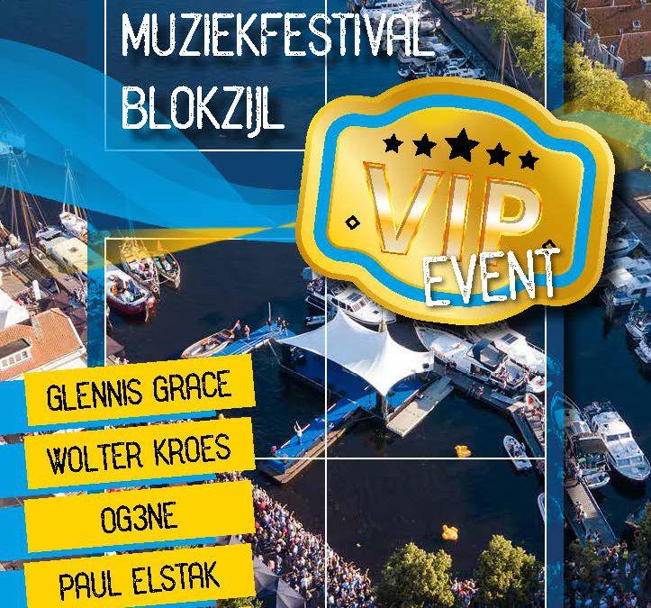 VIP Sponsortickets voor Muziekfestival Blokzijl 2019