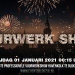 Grote Professionele Vuurwerkshow Nieuwjaar 2020-2021